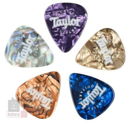 TAYLOR Picks, Marble Assortment, Thin Trsátka