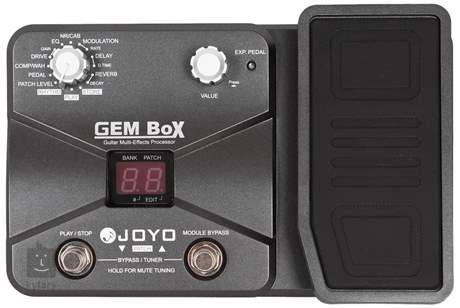JOYO GEM Box I Kytarový multiefekt