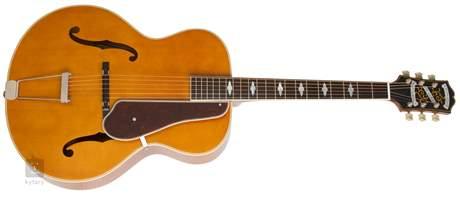 EPIPHONE De Luxe Classic VN Elektroakustická kytara