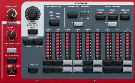 NORD STAGE 3 HP76 Přenosné digitální stage piano, varhany, syntezátor
