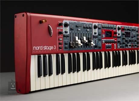 NORD STAGE 3 Compact (rozbalené) Přenosné digitální stage piano, varhany, syntezátor
