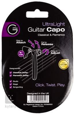 G7TH Ultralight Classical Black Kapodastr