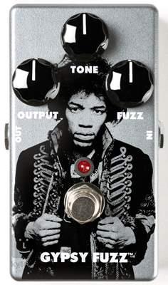 DUNLOP JHM8 Jimi Hendrix Gypsys Fuzz Face Kytarový efekt
