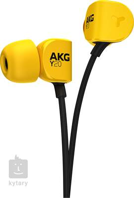 AKG Y20U Yellow In-Ear sluchátka