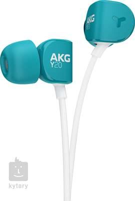 AKG Y20U Teal In-Ear sluchátka