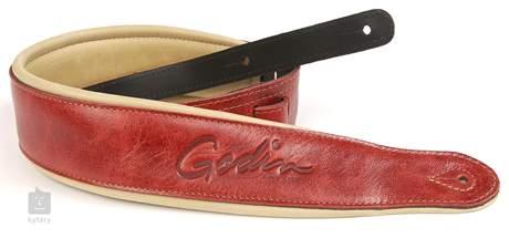 GODIN Vintage padded leather Kytarový popruh