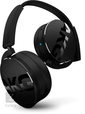 AKG Y50BT Black Bezdrátová sluchátka
