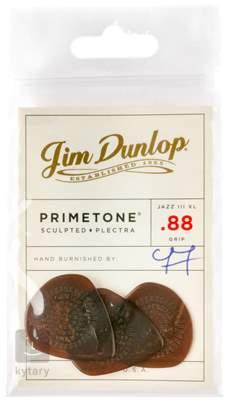 DUNLOP Primetone Jazz III XL 0.88 with Grip Trsátka