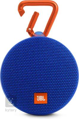 JBL Clip 2 Blue Bezdrátový přenosný reproduktor