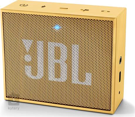JBL GO Yellow Bezdrátový přenosný reproduktor