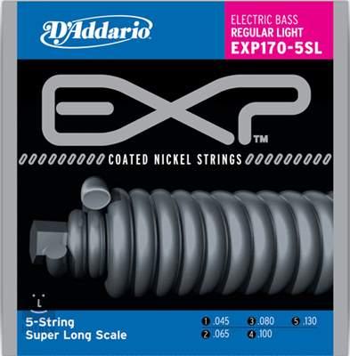 D'ADDARIO EXP170-5SL Struny pro pětistrunnou baskytaru