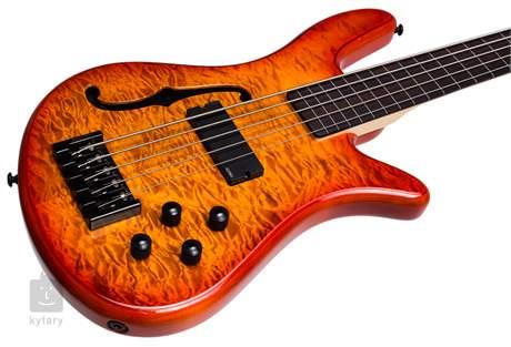 SPECTOR Spectorcore 5 FL-AB G Semiakustická bezpražcová baskytara