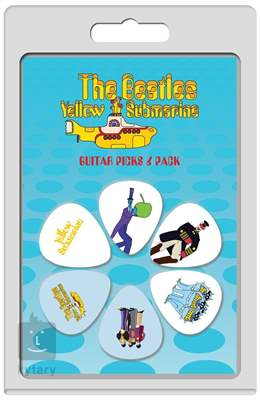 PERRI'S LEATHERS Beatles Picks Picks VII Yellow Submarine Signature trsátka