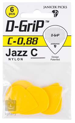 D-GRIP Jazz C 0.88 6 pack Trsátka