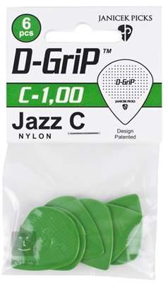 D-GRIP Jazz C 1.00 6 pack Trsátka