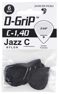 D-GRIP Jazz C 1.40 6 pack Trsátka