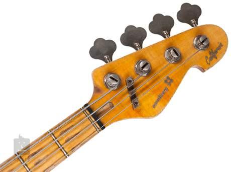 SANDBERG California II TT4 CR MPA MN - Masterpiece Elektrická baskytara