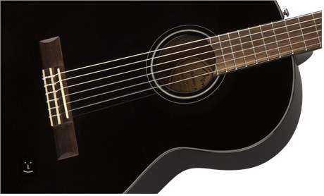 FENDER CN-60S BLK Klasická kytara