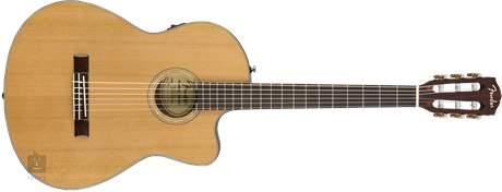 FENDER CN-140SCE NAT Klasická elektroakustická kytara