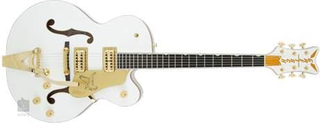 GRETSCH G6136T-WHT Player's Edition Falcon Semiakustická kytara