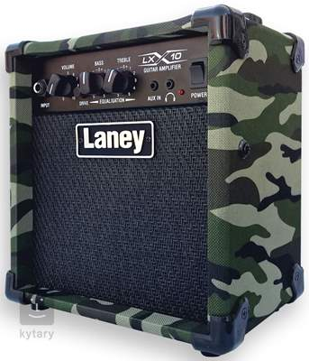 LANEY LX10 CAMO Kytarové tranzistorové kombo