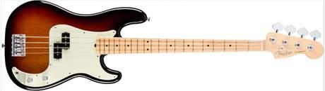 FENDER American Professional Precision Bass MN 3TS Elektrická baskytara