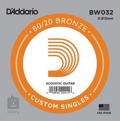 D'ADDARIO BW032 Kovová struna pro akustickou kytaru
