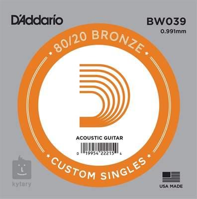 D'ADDARIO BW039 Kovová struna pro akustickou kytaru