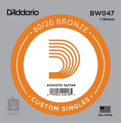 D'ADDARIO BW047 Kovová struna pro akustickou kytaru
