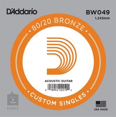 D'ADDARIO BW049 Kovová struna pro akustickou kytaru