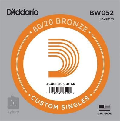 D'ADDARIO BW052 Kovová struna pro akustickou kytaru