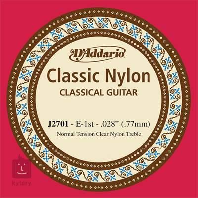 D'ADDARIO J2701 Nylonová struna pro klasickou kytaru