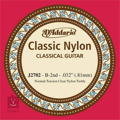 D'ADDARIO J2702 Nylonová struna pro klasickou kytaru