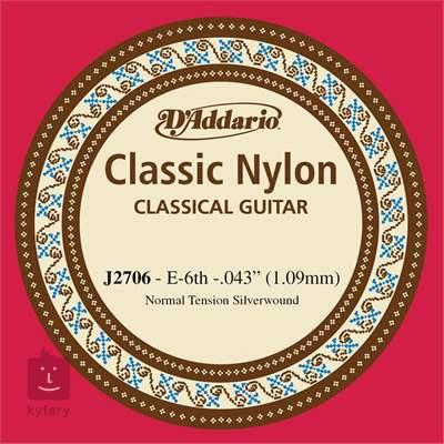 D'ADDARIO J2706 Nylonová struna pro klasickou kytaru