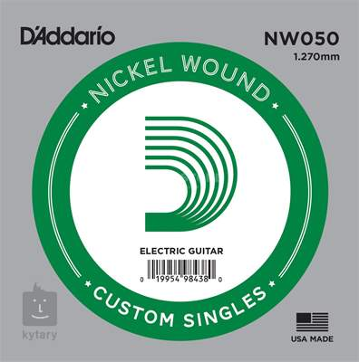 D'ADDARIO NW050 Struna pro elektrickou kytaru