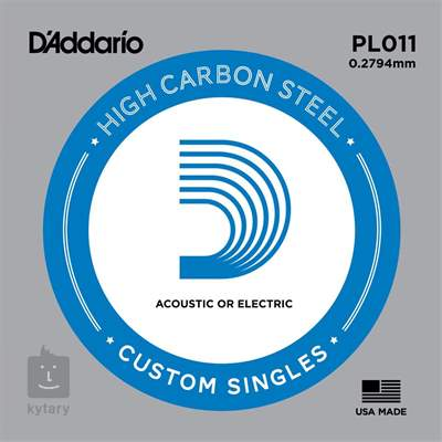 D'ADDARIO PL011 Struna pro elektrickou/akustickou kytaru
