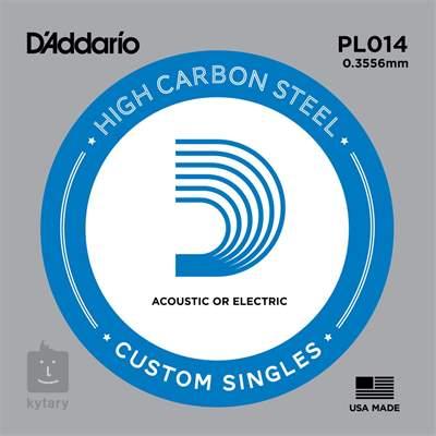 D'ADDARIO PL014 Struna pro elektrickou/akustickou kytaru