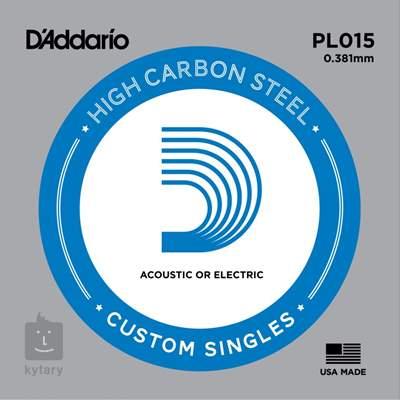 D'ADDARIO PL015 Struna pro elektrickou/akustickou kytaru