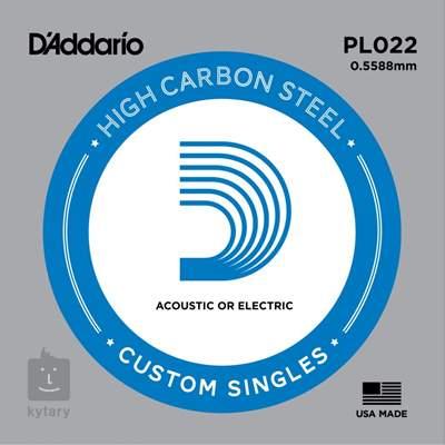 D'ADDARIO PL022 Struna pro elektrickou/akustickou kytaru