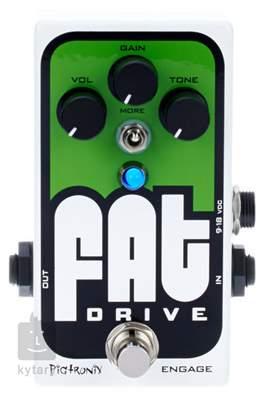 PIGTRONIX Fat Drive Overdrive Kytarový efekt