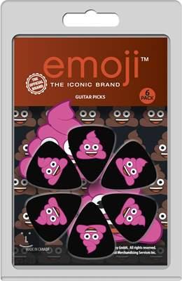 PERRI'S LEATHERS Emoji Picks III Pink Poo Trsátka