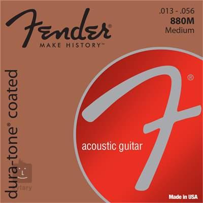 FENDER 880M Kovové struny pro akustickou kytaru