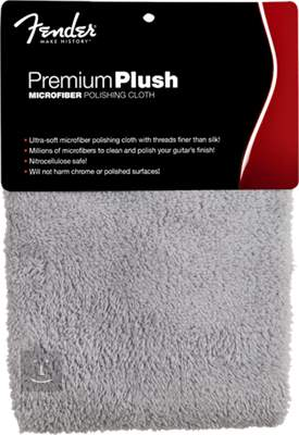 FENDER Premium Plush Microfiber Polishing Cloth Kytarová kosmetika