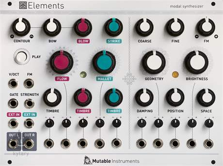 MUTABLE-INSTRUMENTS Elements Eurorack modul
