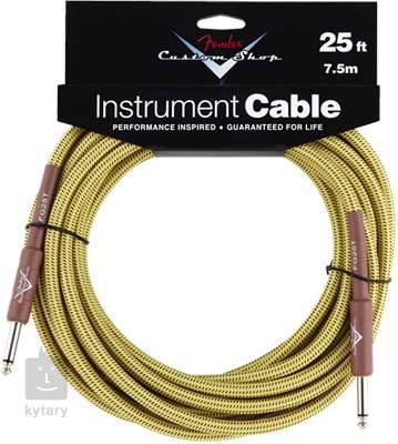 FENDER Custom Shop Cable 25' Tweed Nástrojový kabel