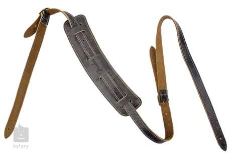 FENDER Fender Vintage-Style Distressed Leather Strap Kytarový popruh