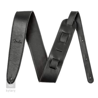 "FENDER Artisan Crafted Leather Strap 2.5"" Black Kytarový popruh"