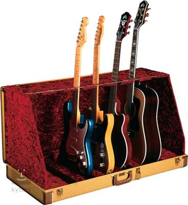 FENDER Stage Seven Guitar Stand Case Tweed Stojan pro více nástrojů