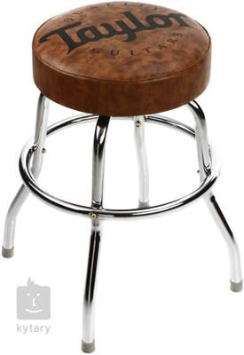 "TAYLOR Taylor Bar Stool 24"", Brown Kytarová stolička"