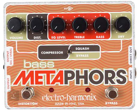 ELECTRO HARMONIX Bass Metaphors Baskytarový efekt